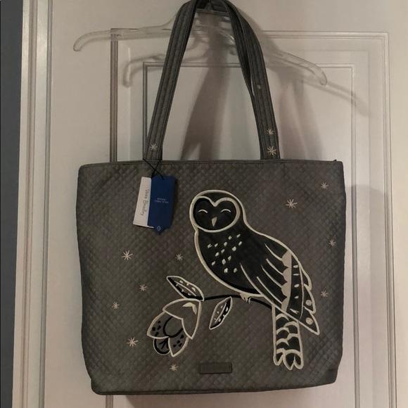 6a95ab7b1 Vera Bradley Bags | Nwt Iconic Owl Tote Limited Edition | Poshmark
